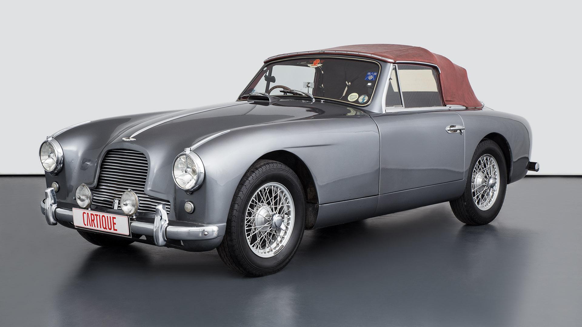 Aston Martin Db2 En Mechatronik Qualität Perfektion Und Leidenschaft