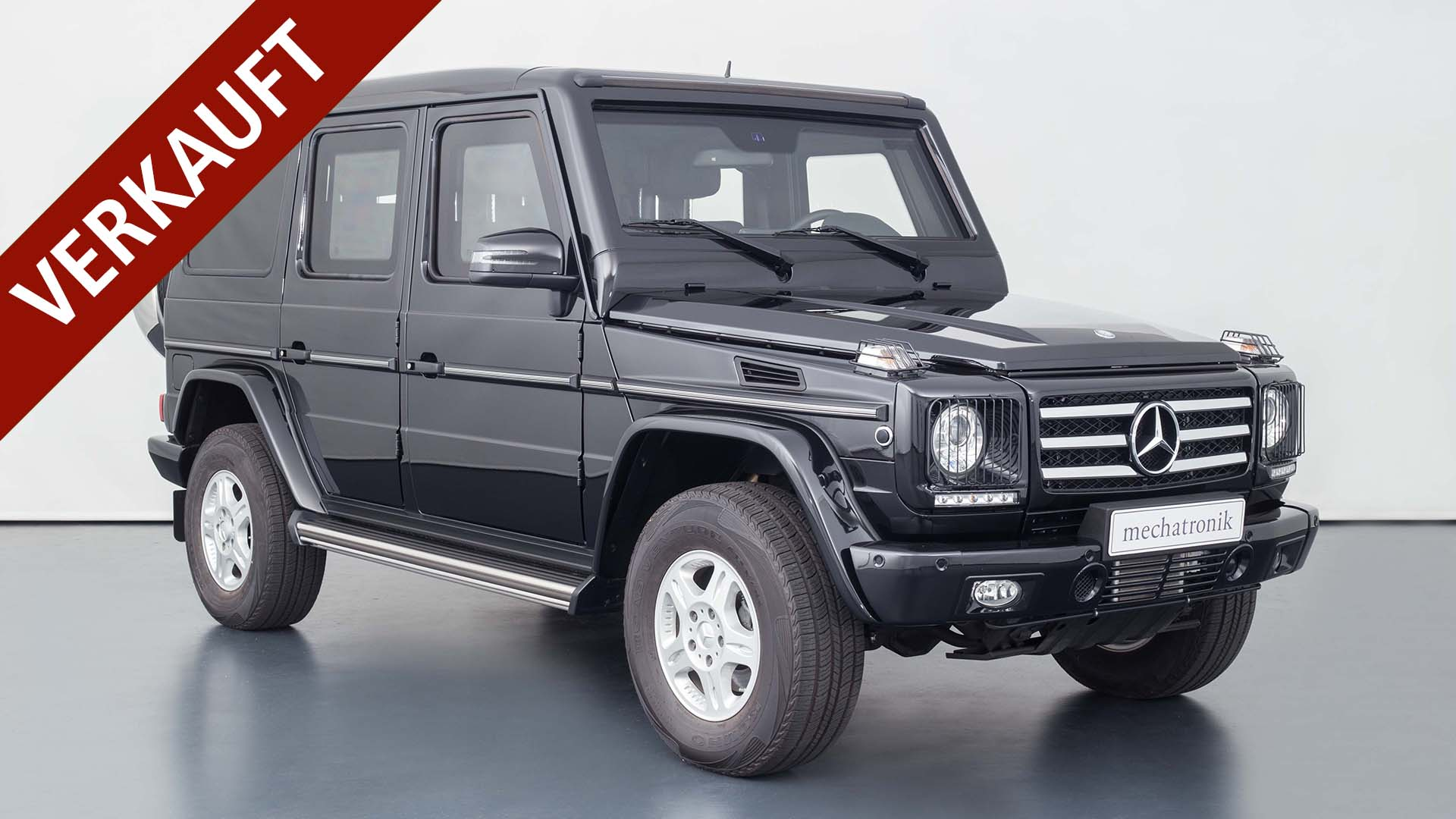 Mercedes-Benz G 500 Guard VR9 Werkspanzer
