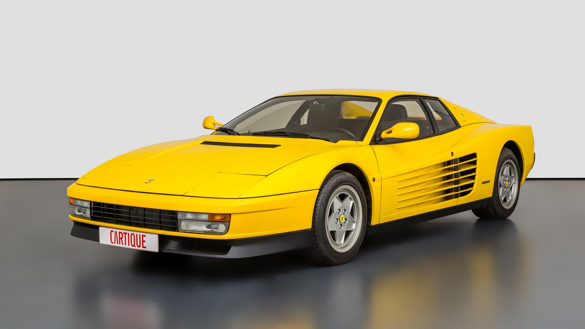 Ferrari 512 Tr Mechatronik Qualität Perfektion Und Leidenschaft