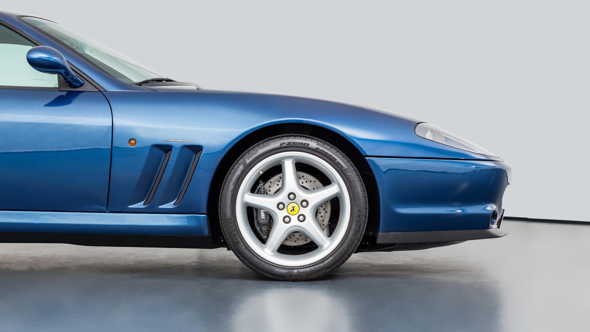 Ferrari 550 Maranello Mechatronik Qualität Perfektion Und Leidenschaft