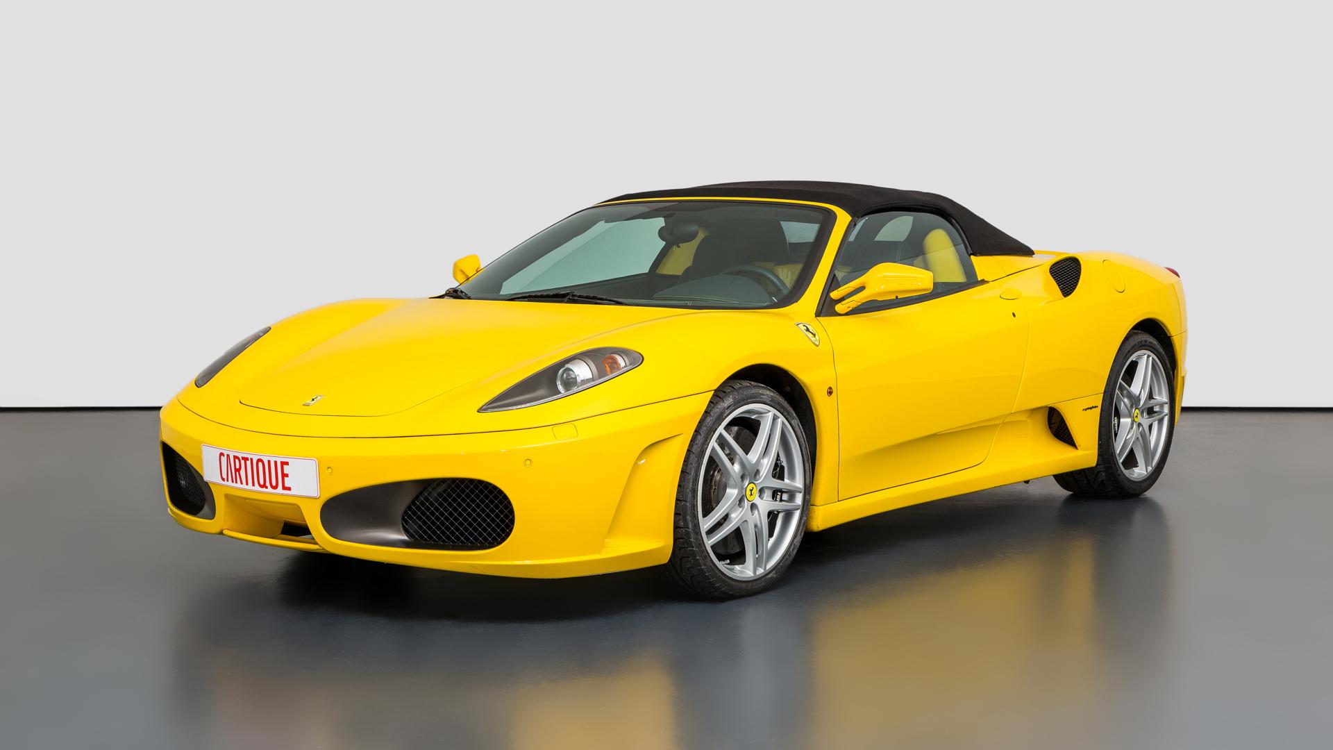 Ferrari F430 Spider Mechatronik Qualität Perfektion Und Leidenschaft