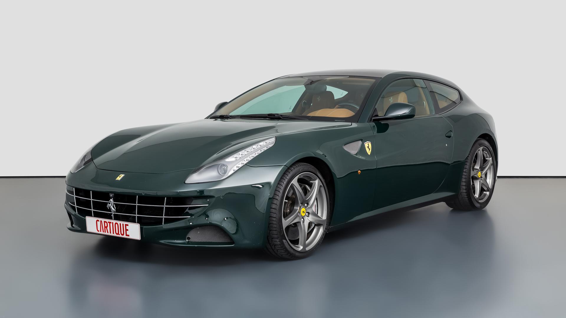 Ferrari Ff Mechatronik Qualität Perfektion Und Leidenschaft