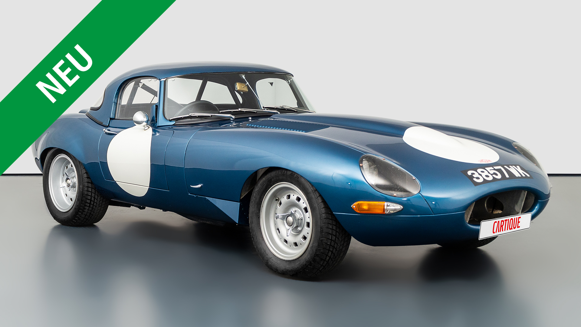Jaguar E-Type Competition