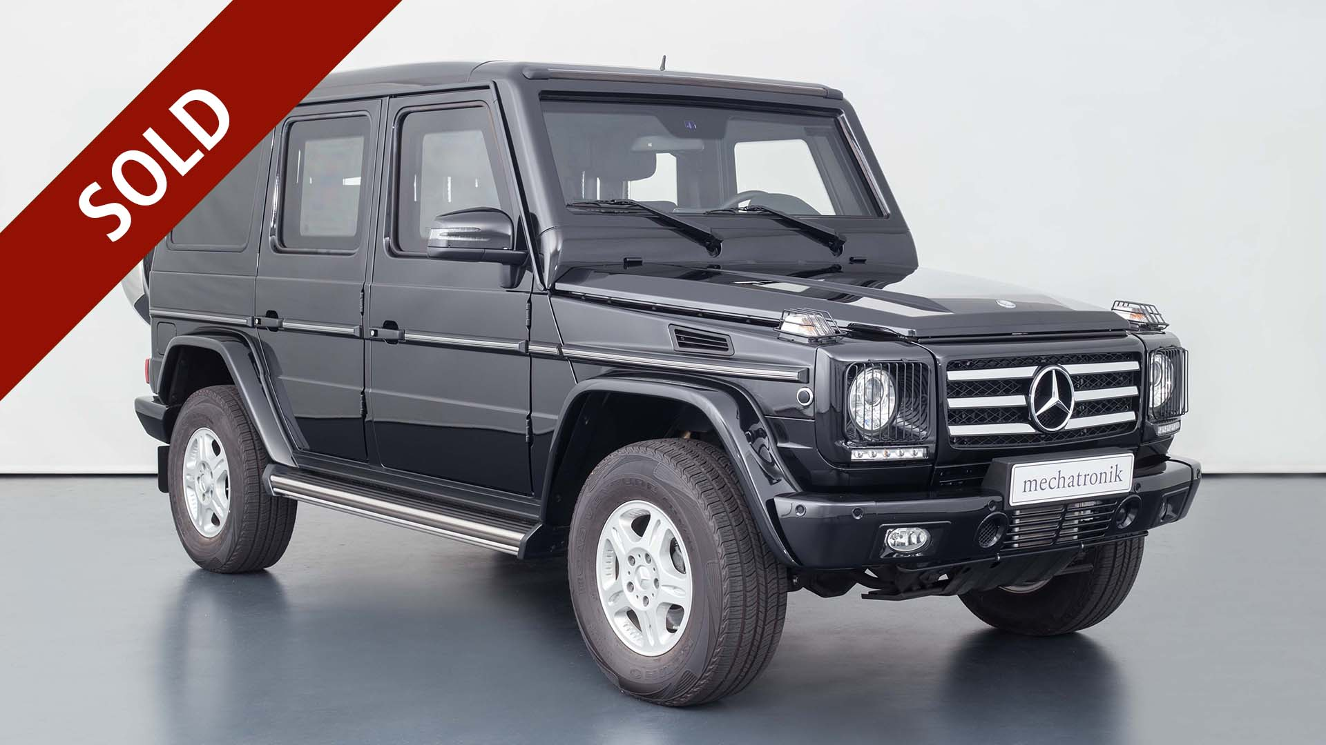 Mercedes-Benz G 500 Guard VR9