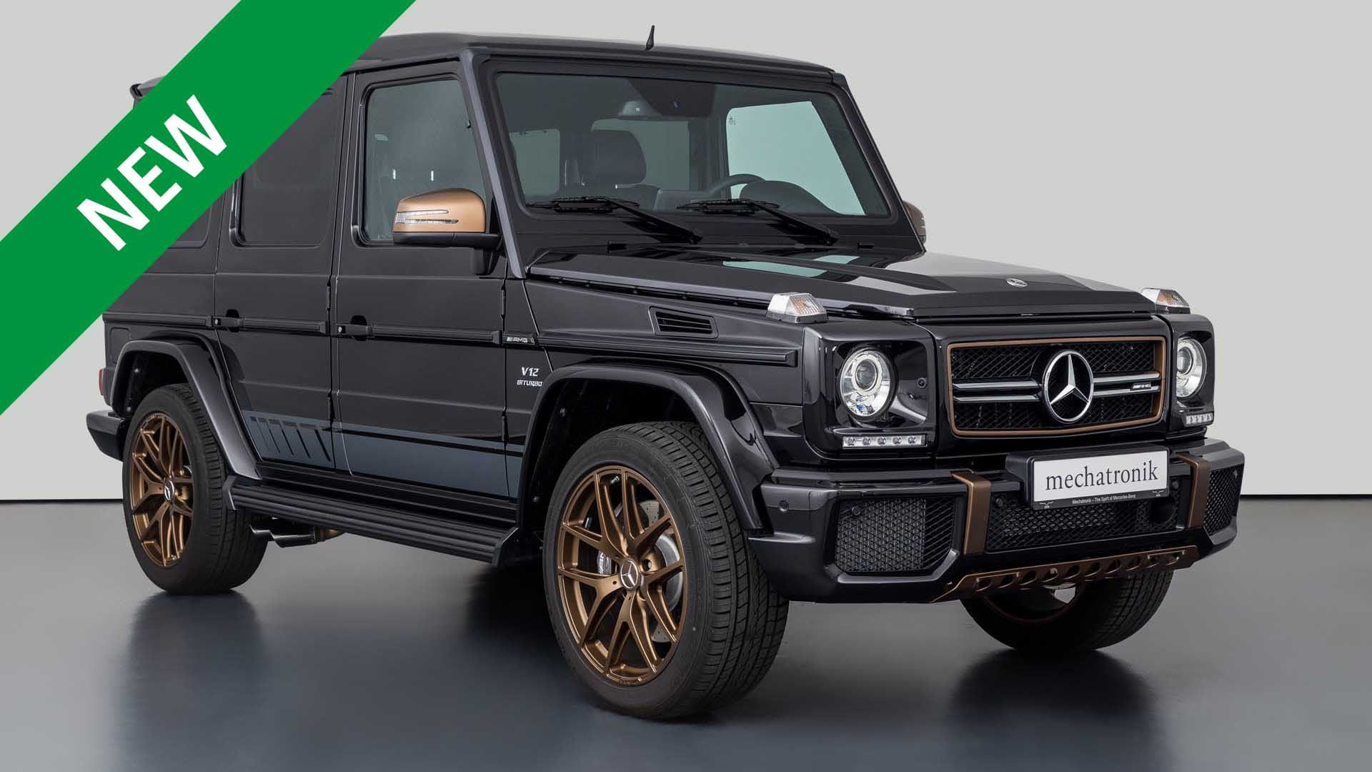 Mercedes-Benz G65 AMG Final Edition
