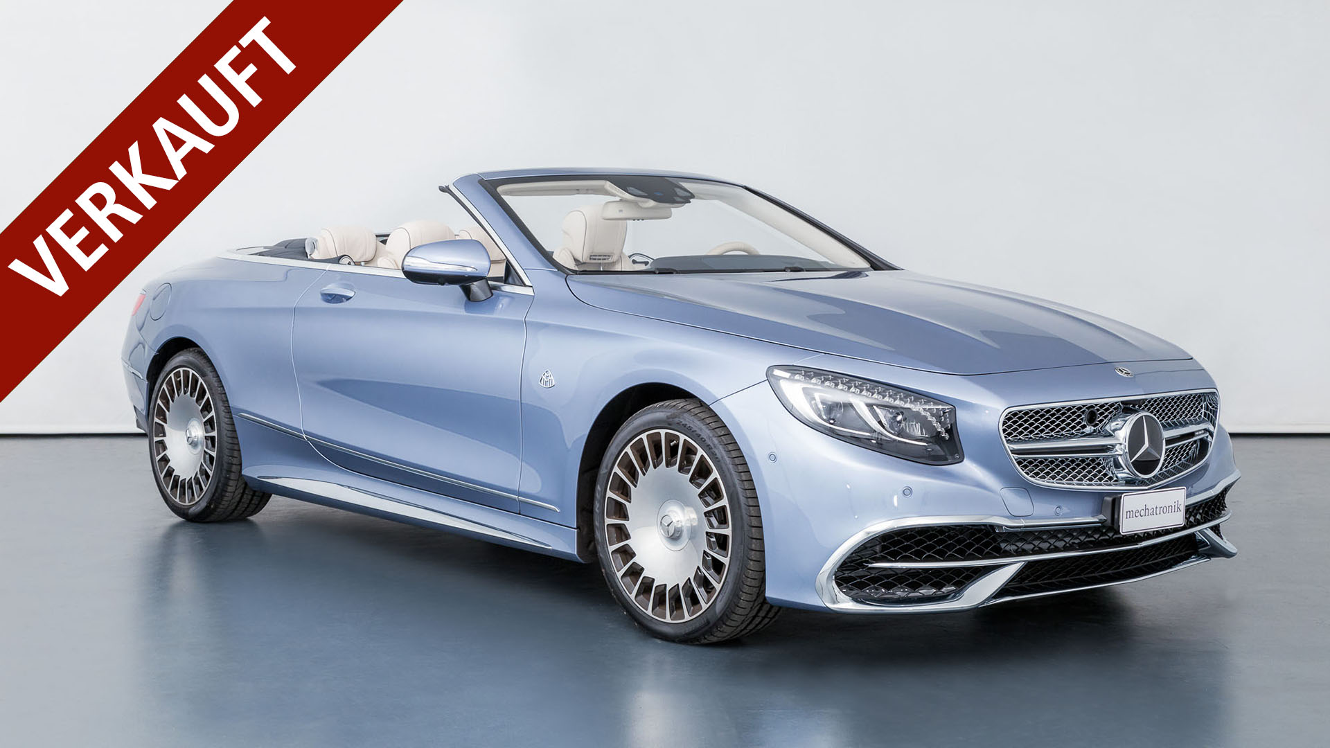 Mercedes-Benz S650 Maybach Cabriolet