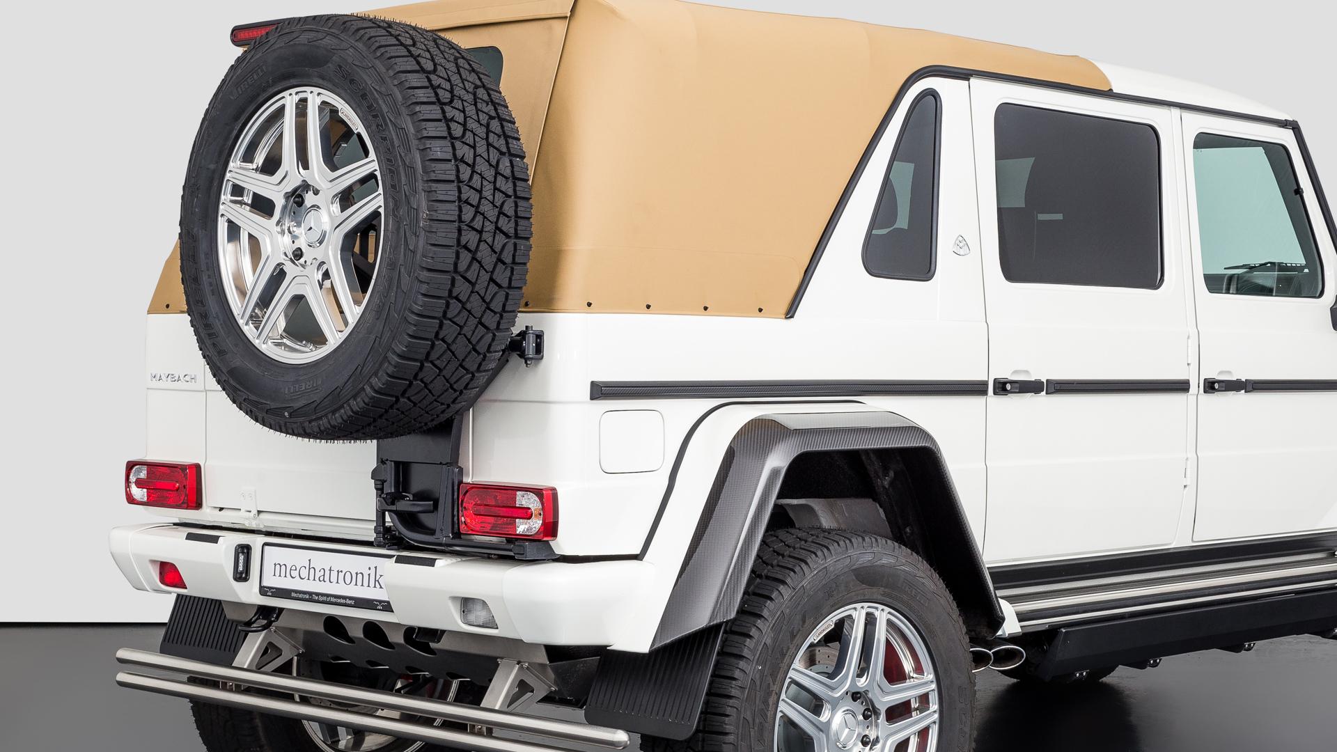 MB G650 Landaulet White | Mechatronik - Qualität, Perfektion und Leidenschaft